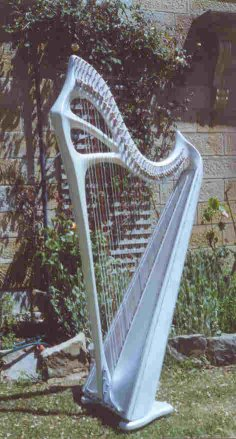 """Stirling"" 39-string harp"